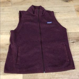 Patagonia Maroon Better Sweater Vest